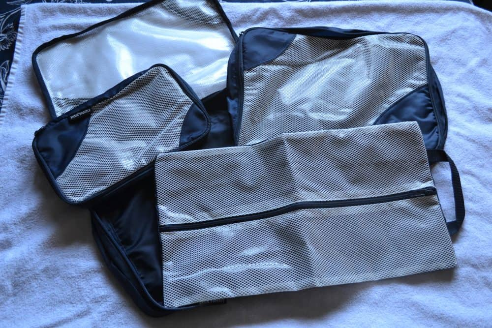 IKEA packing cubes
