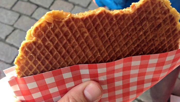 Stroopwaffle via IAMSTERDAM