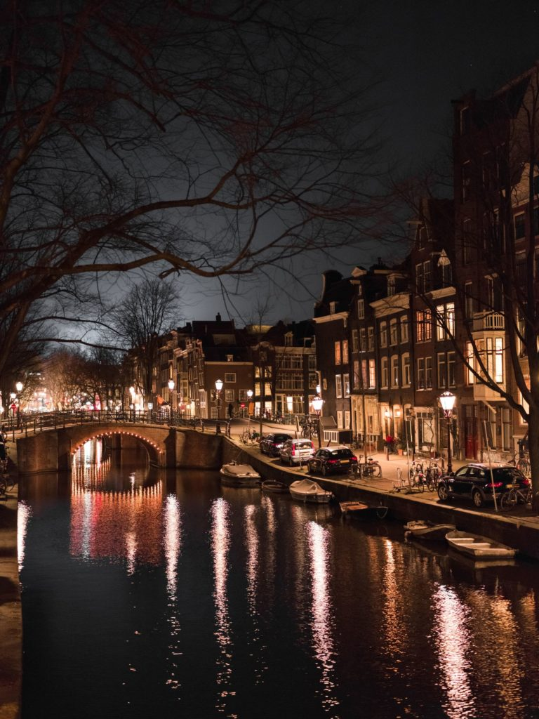 48 Hours in Amsterdam at night