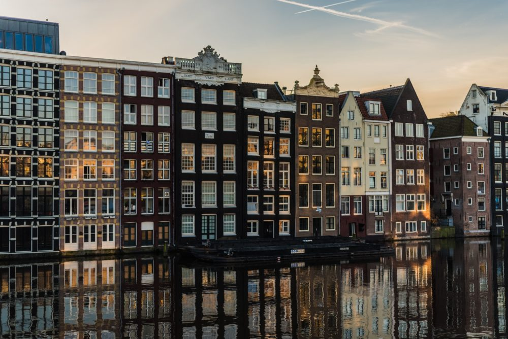 48 Hours in Amsterdam building