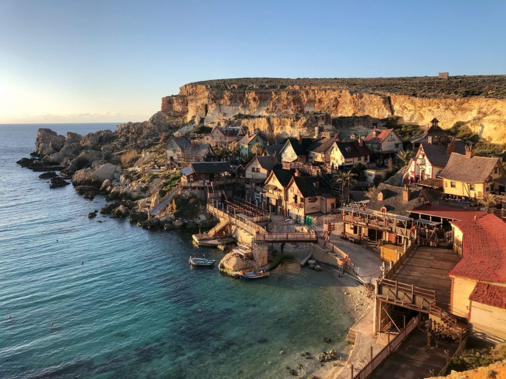 a week in malta popeyes village