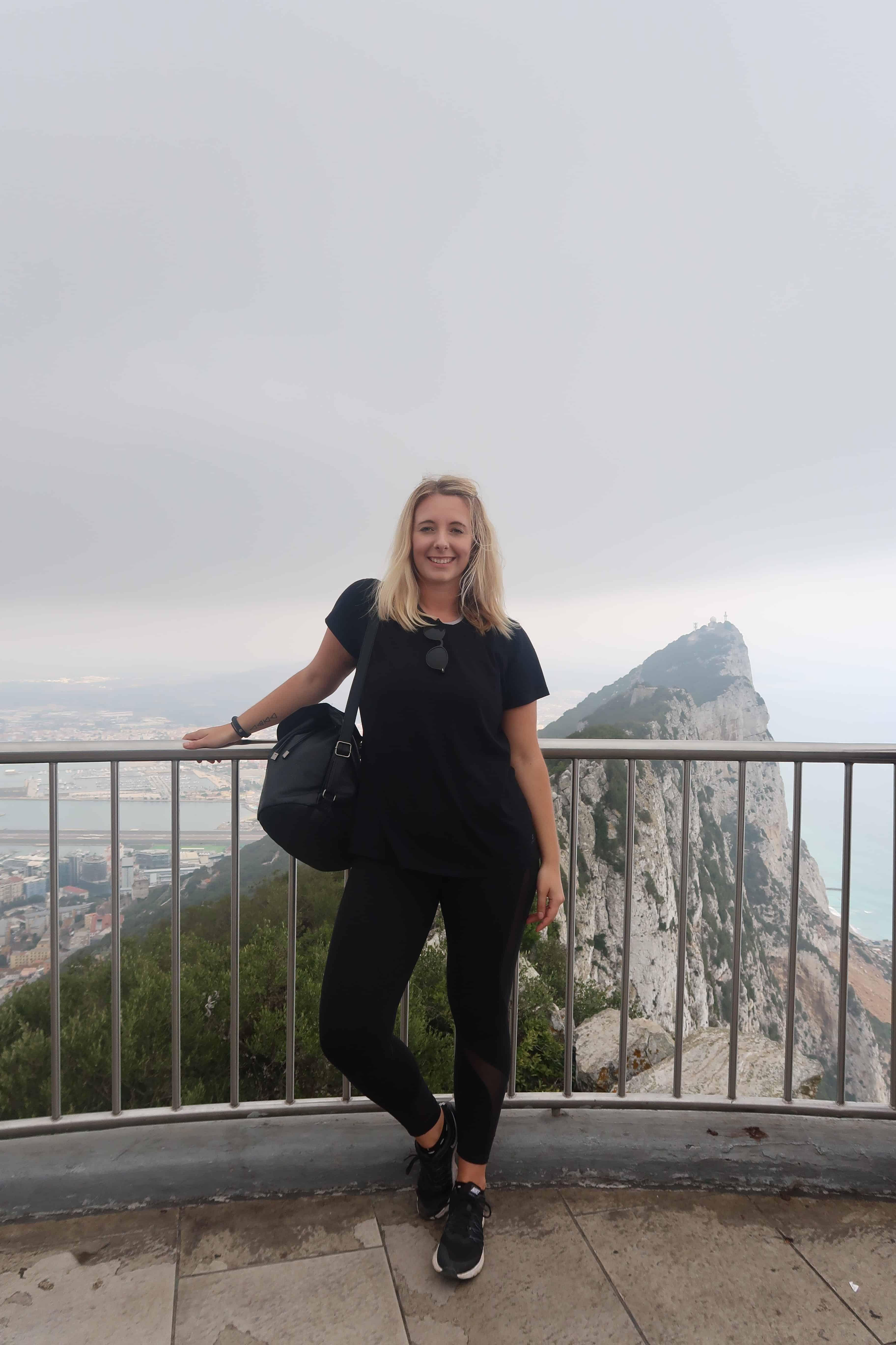 Mediterranean steps in Gibraltar