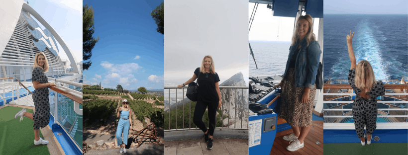 What to pack for a cruise around theMediterranean