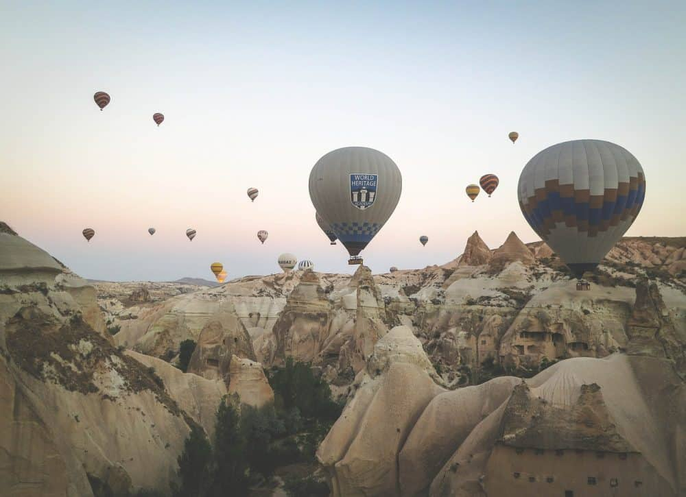 Hot Air Balloon Cappadocia Turkey Itinerary