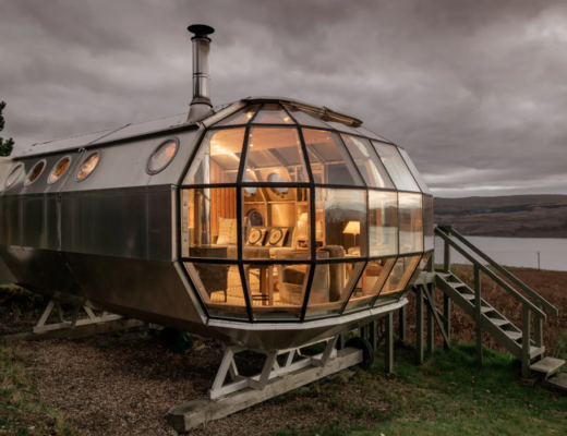 unique airbnb stays uk airship