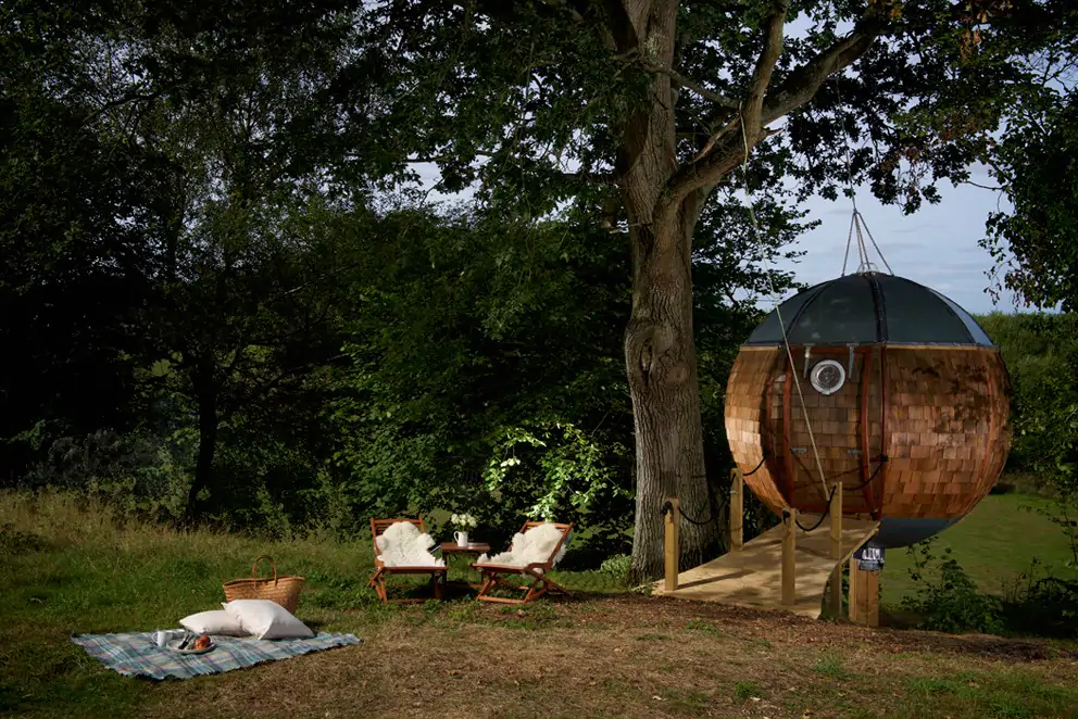 unique airbnb stays uk floating