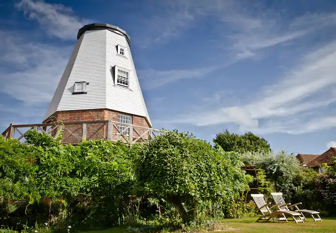 unique airbnb stays uk windmill