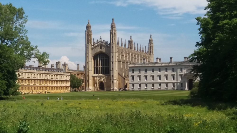 days trips from London by train cambridge