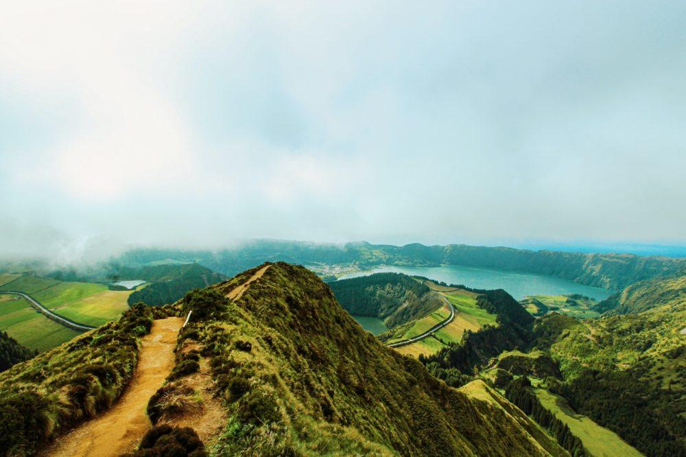 mountain hiking sao miguel