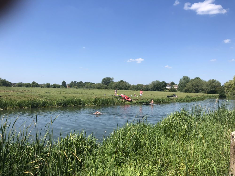 river ouse swimming