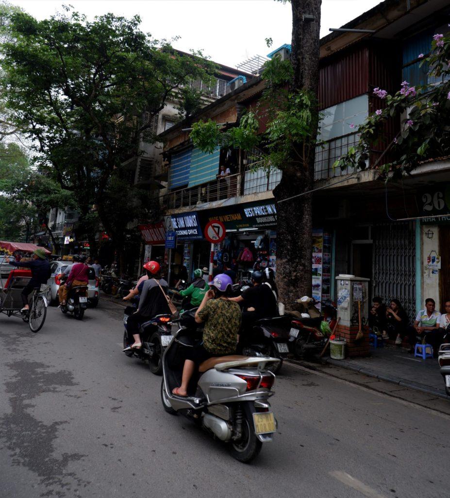 motorcycle hanoi