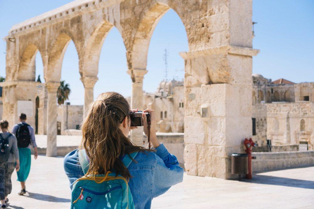 girl in israel